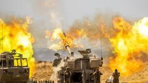 Gaza: Uma mulher grávida e 4 crianças morreram no bombardeio.  Israel agora está se preparando para invadir a partir da terra