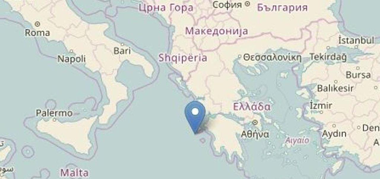 Cartina Italia Terremoti.Scossa Di Terremoto 6 8 In Grecia Paura Anche Nel Sud Dell Italia La Stampa