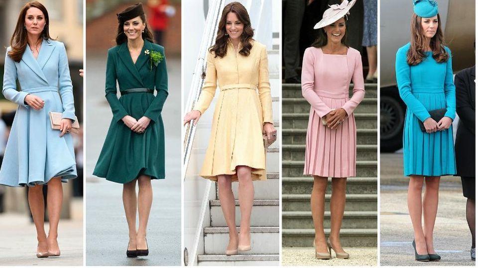 half off 28aff cb40a La passione di Kate per lo stesso vestito in diversi colori ...