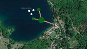 """La passerella della discordia sul lago è pronta a raddoppiare, ma lascerà fuori Orta: """"Un nuovo progetto green"""""""