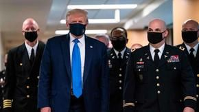 Nuovo record di contagi negli Usa ma si torna a Disney World. Trump in pubblico con la mascherina