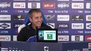 Sampdoria-Juventus, Giampaolo: «Lunedì si chiude il cerchio»