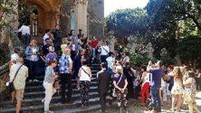 Visite a Villa Zanelli a Savona, tra ritardi, imprevisti e polemiche