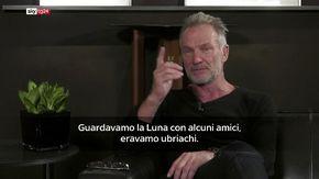 """Sting: """"Dov'ero il giorno dello sbarco sulla Luna? Ero ubriaco, non ricordo nulla"""""""