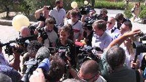 Agrigento, la comandante Carola Rackete arriva in tribunale. Interrogata dal pm