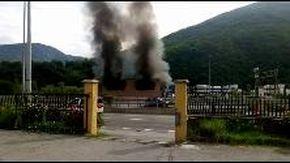 Esplosione a Ronco Scrivia in uno stabilimento di Isolabuona