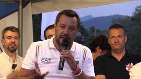 """Salvini e l'offesa a Carola Rackete: """"Pure la zecca tedesca mi ha denunciato"""""""