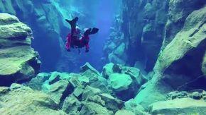 Il viaggio straordinario del sub nel luogo in cui un continente termina e ne inizia un altro