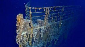 """La rivelazione dei sub: """"il Titanic sta scomparendo"""""""