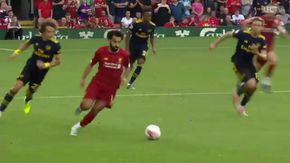 Salah mette il turbo e segna: la corsa sulla fascia è travolgente