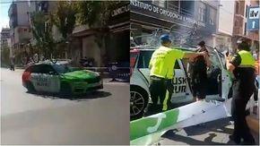 Incidente alla Vuelta, l'ammiraglia si schianta in curva ed evita il pubblico per pochi metri