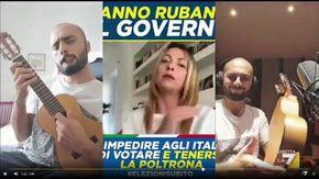 """""""Rubala!"""": la nuova hit di Giorgia Meloni 'musicata' da Fabio Celenza per Propaganda Live"""
