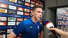 Genoa-Atalanta, Gosens: «In Champions con fiducia»
