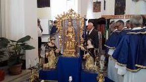 Tornata all?antico splendore la statua della Madonna dei Miracoli
