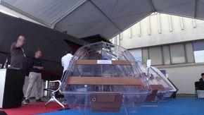 """Al Salone Nautico di Genova la barca totalmente trasparente: """"È la prima al mondo"""""""