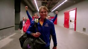 Nadal chiede il sostegno dei fan: Federer e Fognini lo prendono in giro alle spalle