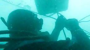 Sequestrati 2000 kg di hashish, ecco la tecnica subacquea dei trafficanti