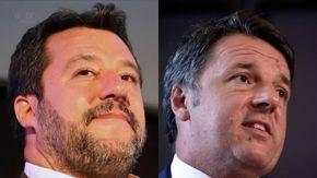 """Salvini vs Renzi, il tifo sui social per scegliere il Matteo vincitore dello scontro a """"Porta a porta"""""""