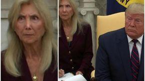 La traduttrice di Donald Trump diventa virale dopo le reazioni durante la conferenza con Mattarella