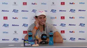 La domanda scomoda del giornalista italiano a Nadal sulle nozze, il tennista va su tutte le furie