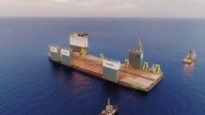 Il battello in grado di sollevare qualunque cosa: dagli impianti petroliferi offshore a navi da crociera