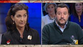 """Salvini impietrito dal commento della giornalista: """"Un operaio Ilva vale più di Balotelli? Ma quando se ne parla in Aula lei non c'è"""""""
