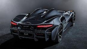 Nasce la McLaren Elva, hypercar da 1,7 milioni di euro senza tetto e uno schermo fatto d'aria