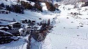 Maltempo in Alto Adige, col drone sulla val Martello: le immagini dopo la valanga