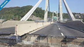 Ponte Morandi: le immagini mai viste, desecretate dalla Procura di Genova