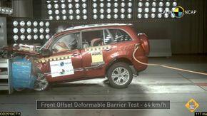 L'auto meno sicura del Sudamerica, le immagini del crash test ufficiale sono choccanti