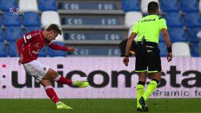 Il gol spettacolare del valdostano Nicolussi Caviglia: riceve anche i complimenti di Pjanic