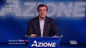 """Crozza/Calenda e il suo partito Azione: """"La mia speranza è che ci sia un 10% di italiani che non capisce un c. come me"""""""