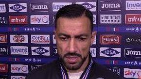 """Samp-Parma, Quagliarella: """"Mi prendo le colpe"""""""