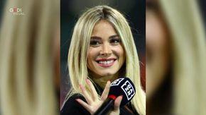 Un'altra gaffe per Diletta Leotta, inciampa sui cori dei tifosi della Lazio dopo la vittoria sulla Juve