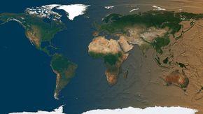 Come sarebbe la Terra se gli oceani si prosciugassero? Uno scienziato mostra il risultato