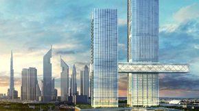 The Link il grattacielo che rompe gli schemi, la torre sospesa a 100 metri è orrizontale