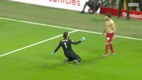 Da porta a porta, l'assist del portiere Alisson a Salah è epico: l'esultanza a Liverpool è incontenibile