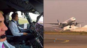 Airbus fa decollare da solo un aereo, la nuova tecnologia spaventa anche il pilota