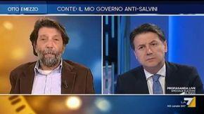 """Cacciari bacchetta Conte: """"Non si sta a guardare Salvini mentre tiene a largo i migranti"""""""