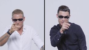 Ecco i nuovi occhiali CR7 che inaugurano la collaborazione tra Lapo Elkann e Cristiano Ronaldo