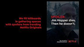 Netflix e la campagna contro il coronavirus: manifesti con gli spoiler delle serie tv per chi esce di casa