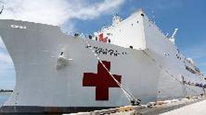 La Marina Usa si prepara a combattere il coronavirus: ecco la nave-ospedale da 1000 posti letto