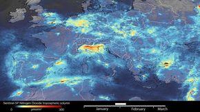 Coronavirus, cala l'inquinamento su tutta Europa ma non durerà: ecco le animazioni dell'Esa