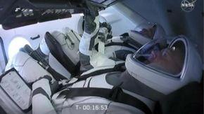 SpaceX, missione rinviata per maltempo:il momento in cui la notizia viene data agli astronauti