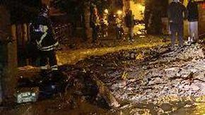 Maltempo nel Bolognese: strade come torrenti