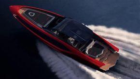 Ecco il super yacht  firmato Lamborghini, potrà raggiungere i 110 km/h