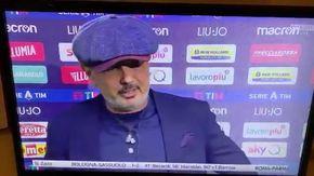 """Mihajlovic si infuria con Caressa: """"Quel conduttore piccolino, il marito di Benedetta Parodi"""""""
