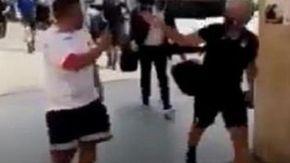 """Gasperini e dirigente dell'Atalanta contro tifoso del Napoli: """"Terrone del c***o"""""""