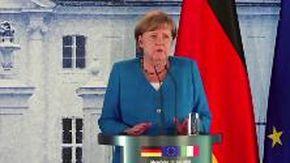 """Ue, Merkel: """"Da Italia disciplina ammirabile. Ora è tempo di superare questa crisi in maniera solidale"""""""