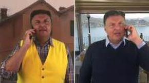 Claudio Lauretta imita Claudio Pozzetto e gli fa gli auguri per gli 80 anni